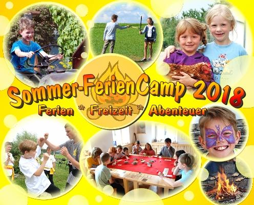 Sommer-FerienCamp 2018 – 05.-11.Aug. 2018 – Abenteuer auf dem Erlebnisbauernhof
