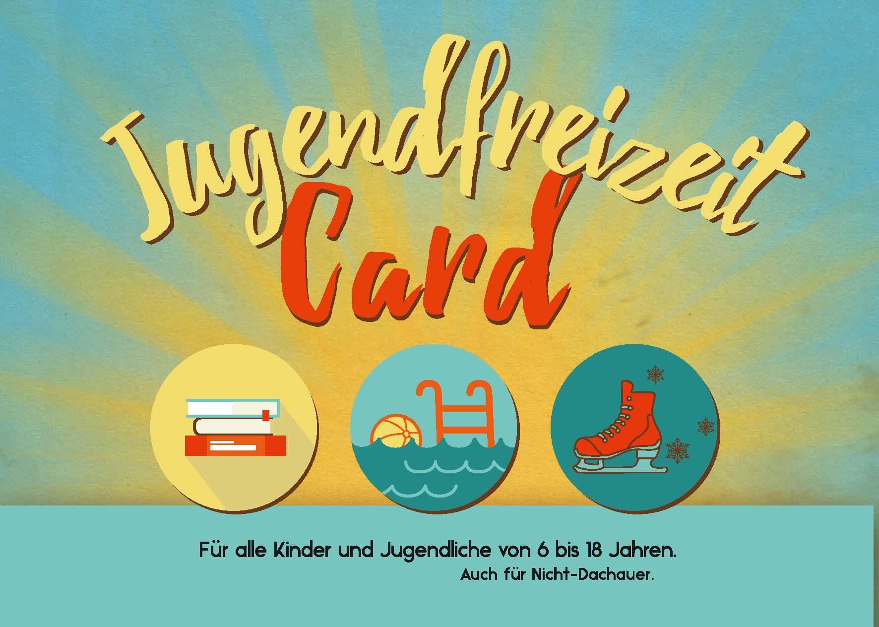 Jugendfreizeitcard für 6 - 18 Jährige