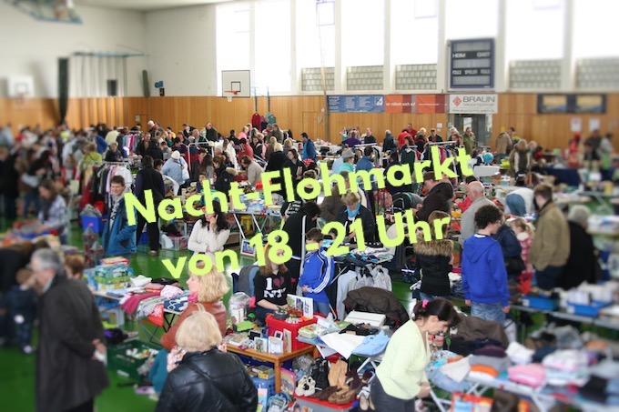Nacht-Flohmarkt für die ganze Familie
