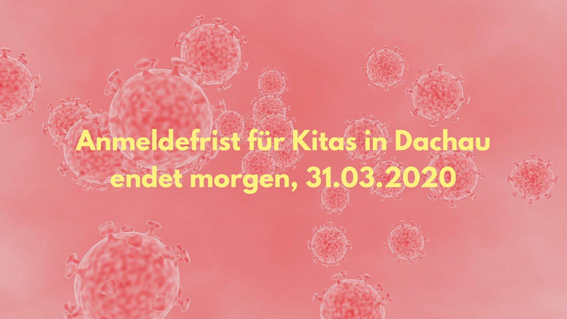 Frist für Kita-Anmeldung endet am 31.03.2020