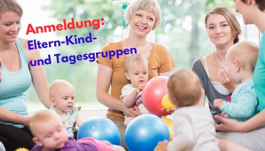 Anmeldung zu den Kleinkindgruppen