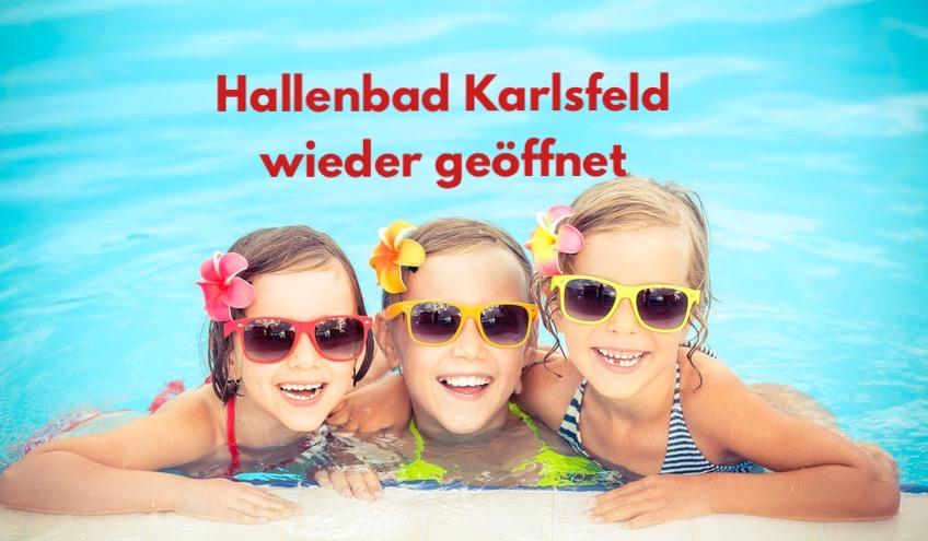 Hallenbad Karlsfeld geöffnet