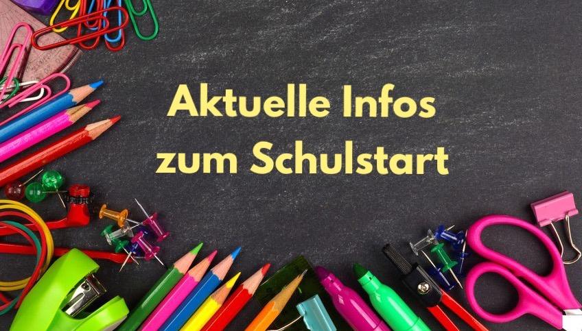 Informationen zum Schulstart nach den Ferien