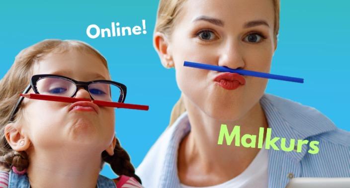 Malkurs für Kinder: online!