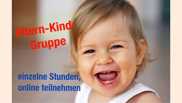 Eltern-Kind-Gruppe - ONLINE!