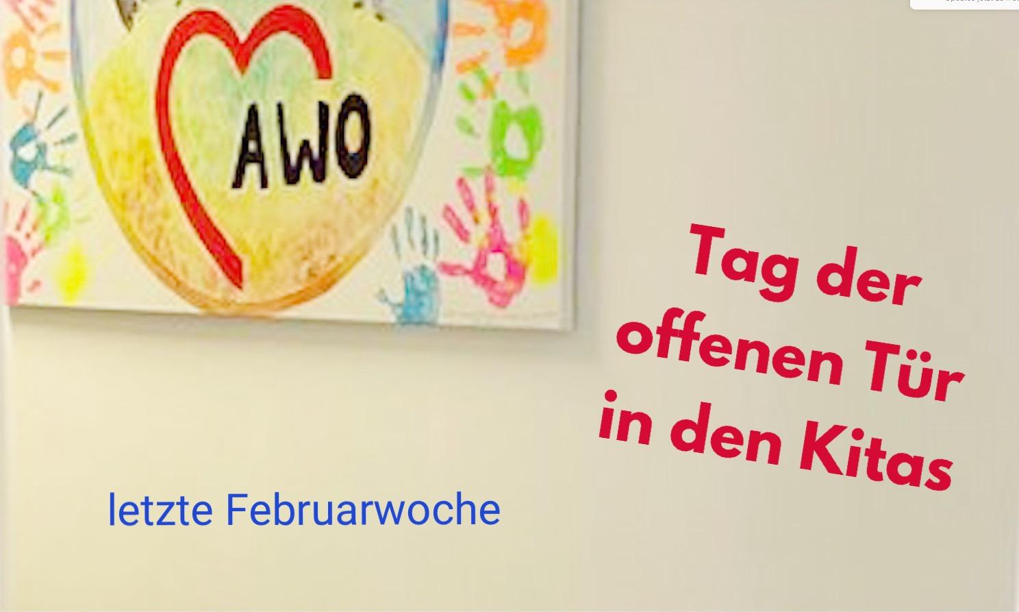 AWO: Tag der offenen Türen in den Kitas