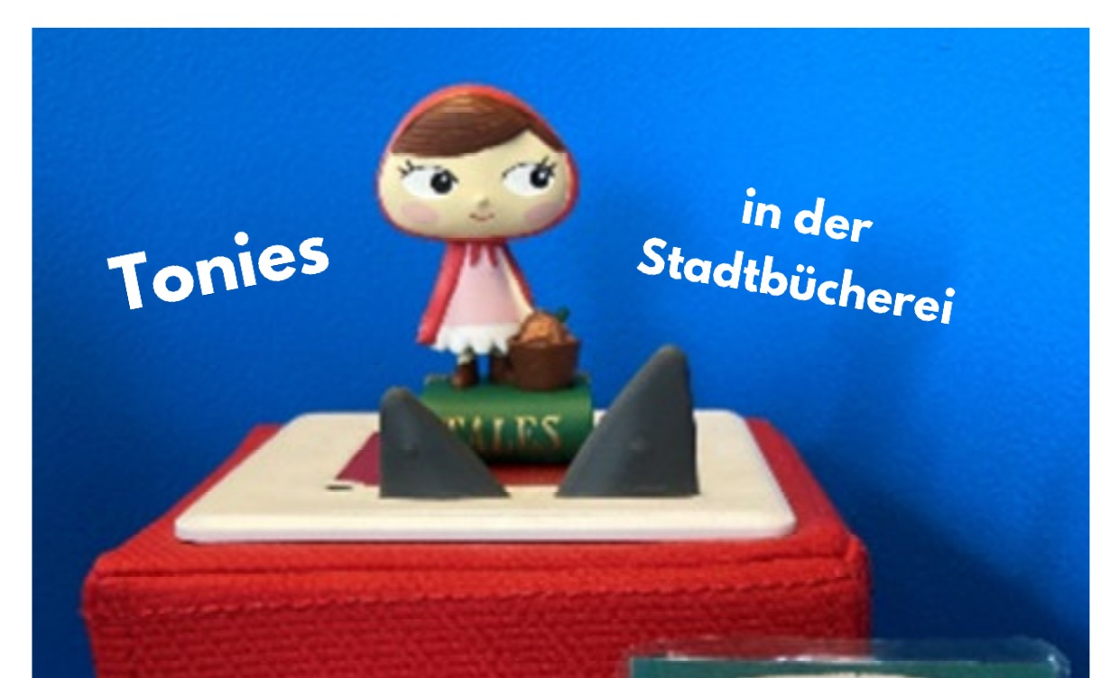 Tonies ® in der Stadtbücherei