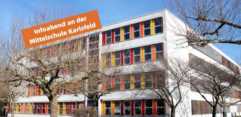 Infoabend über Sondermodell der Mittelschule Karlsfeld
