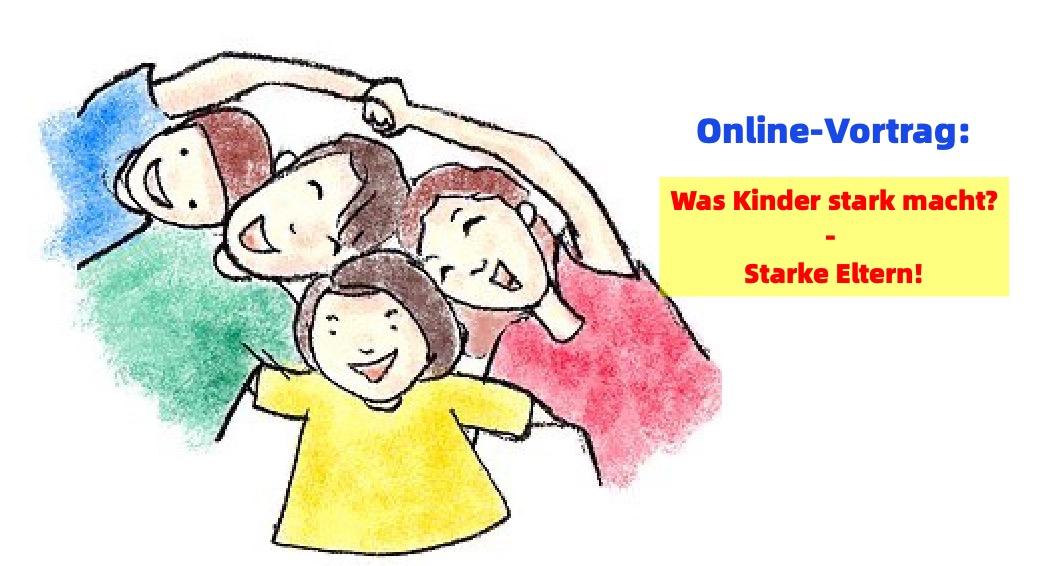 Online-Vortrag: Was Kinder stark macht - Starke Eltern
