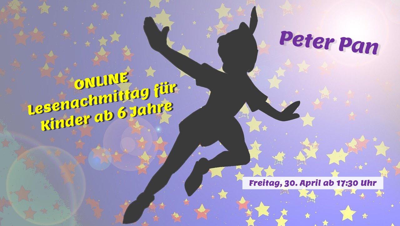 ONLINE-Lesenachmittag: Peter Pan