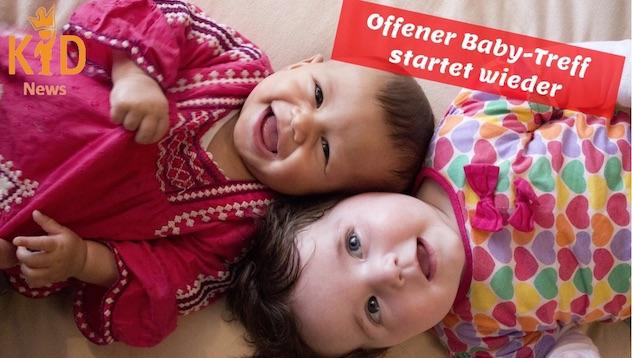 Offener Baby-Treff startet wieder