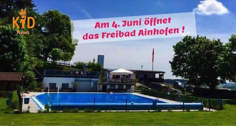 Freibad Ainhofen öffnet!