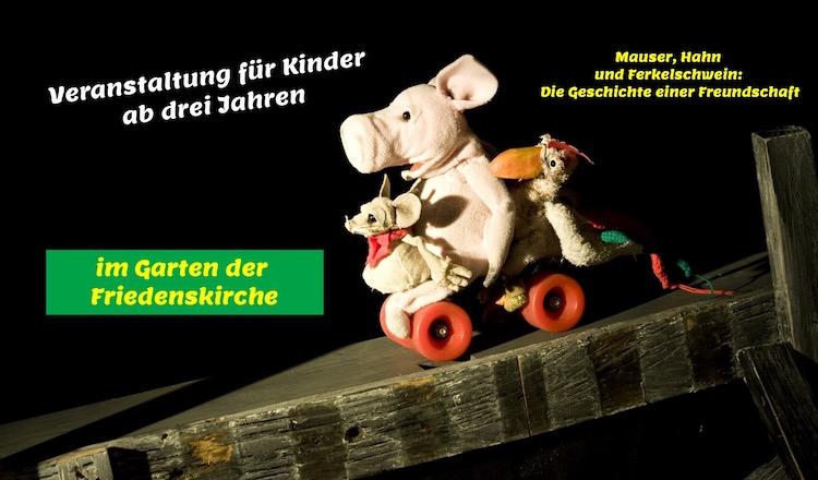 Figurentheater für Kinder ab drei Jahren