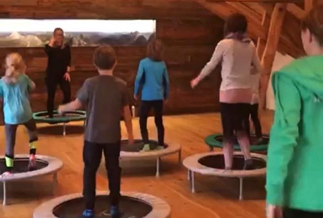 Trampolin-Training für Mama/Papa & Kind
