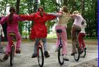 Einradkurs in den Osterferien
