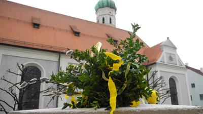 Palmbuschenbinden