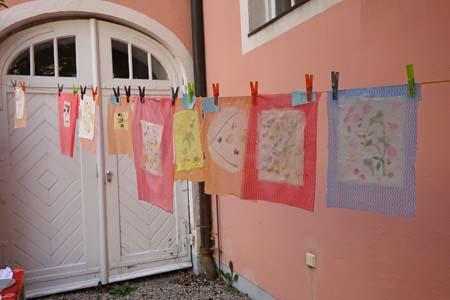 """Ferienworkshop """"Papier aus Gemüse"""""""