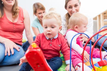 Anmeldetag für Kleinkind-Gruppen