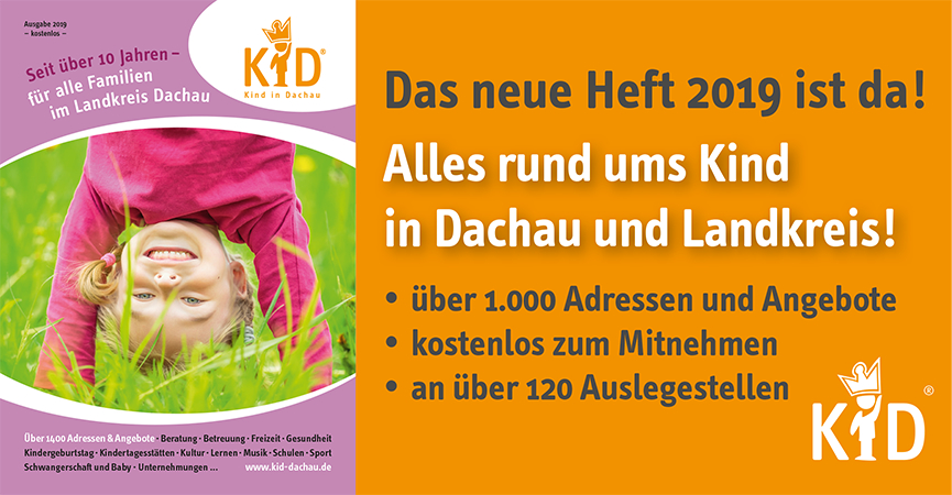 Neue KiD Broschüre 2019 ist da! Jetzt wird verteilt!