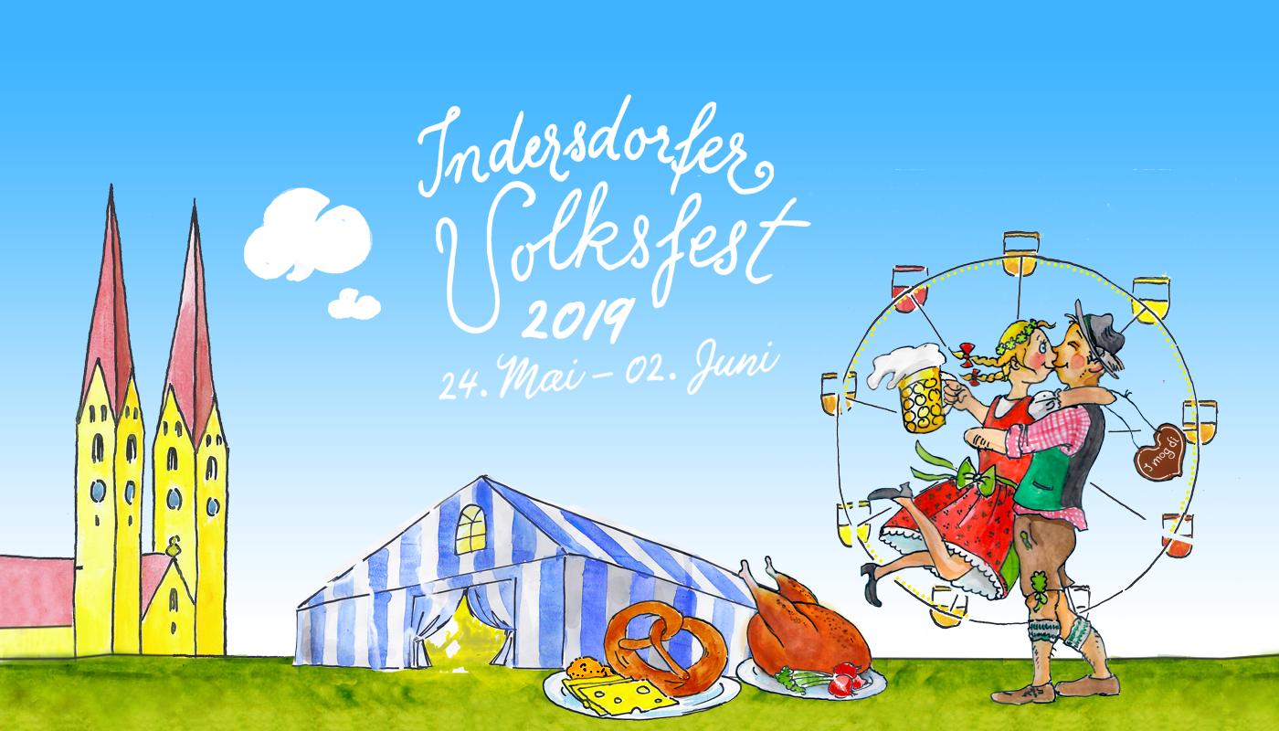 Indersdorfer Volksfest startet