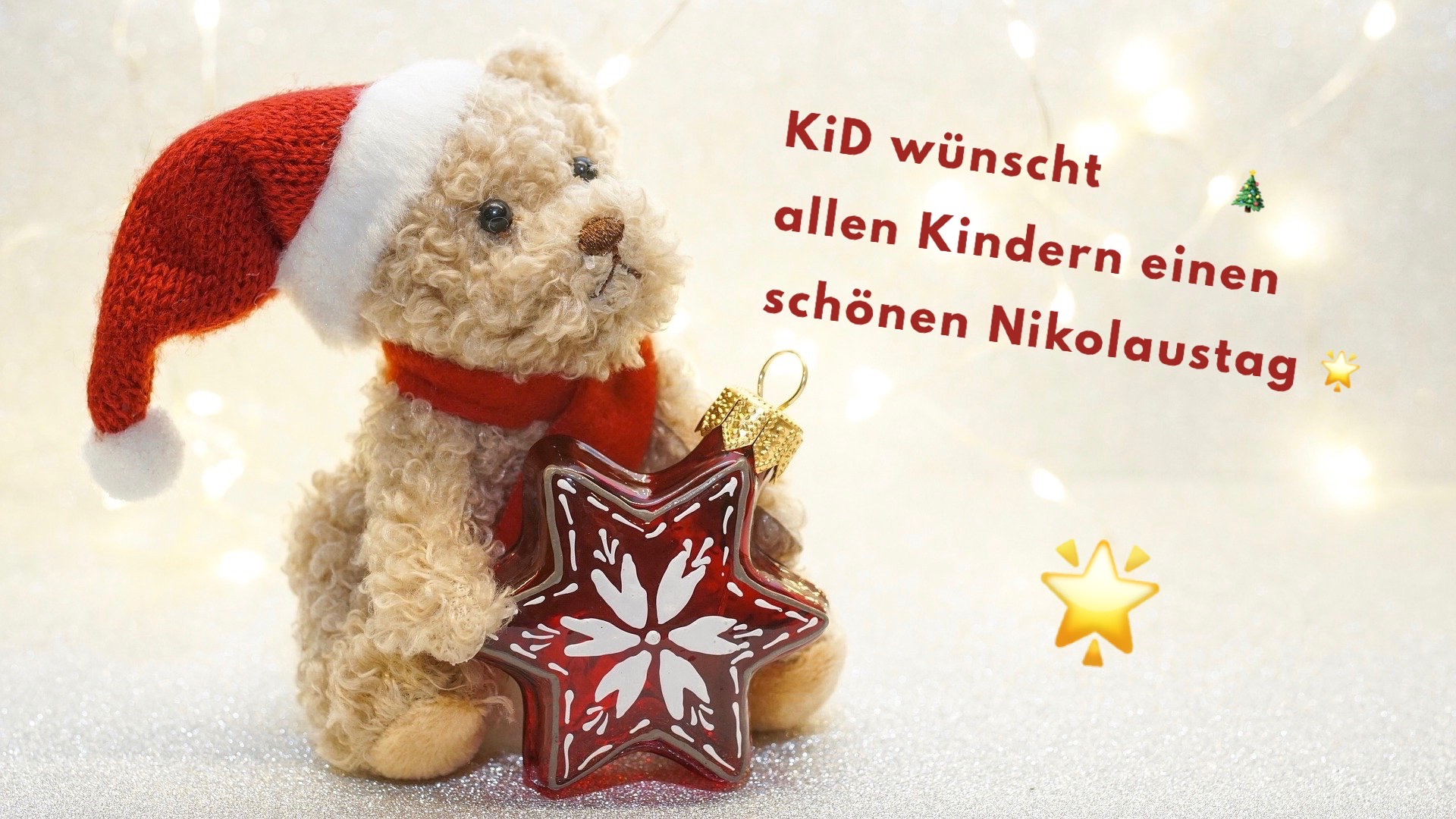 KiD wünscht einen schönen Nikolaustag!