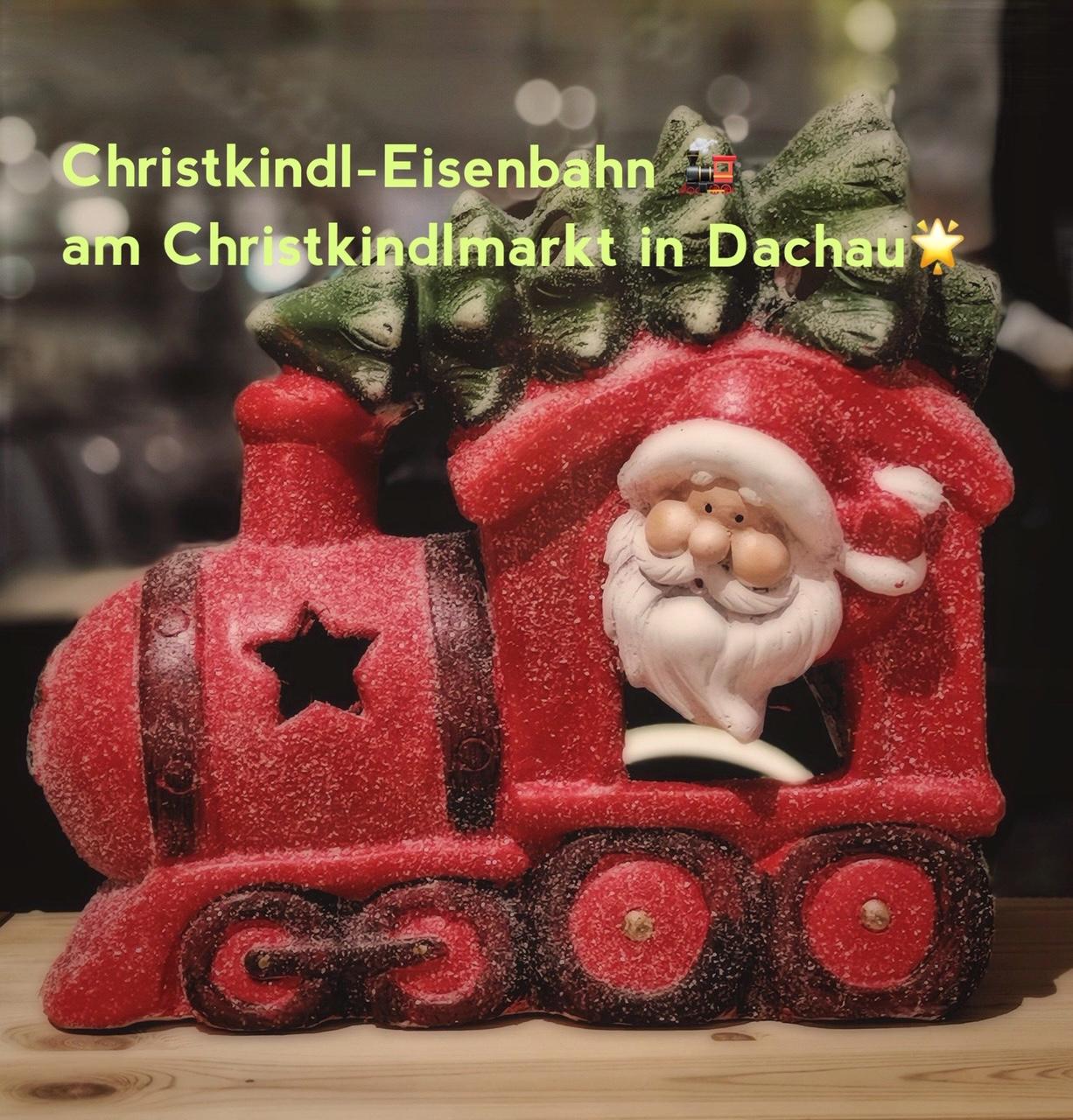 Eisenbahn am Christkindlmarkt
