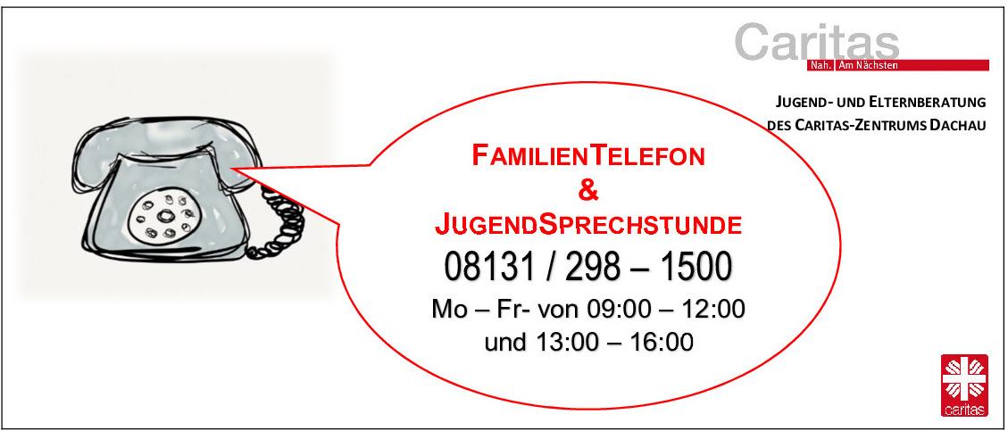 Telefonische und digitale Beratung für Familien