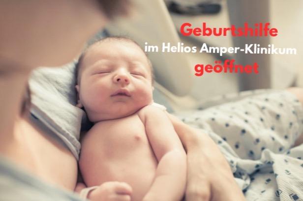Geburtshilfe geöffnet