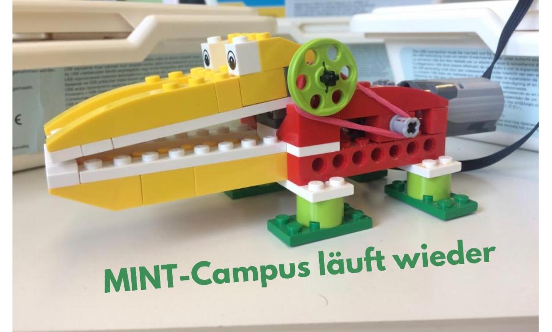 MINT-Campus hat wieder geöffnet
