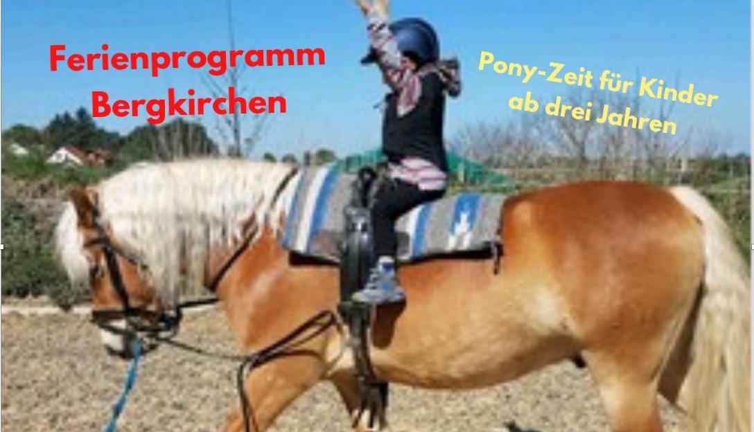 Pony-Zeit für die Kleinen...