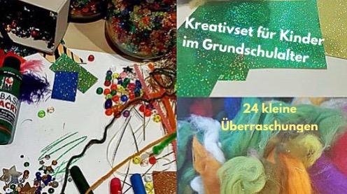 Kreativset für Kinder im Grundschulalter