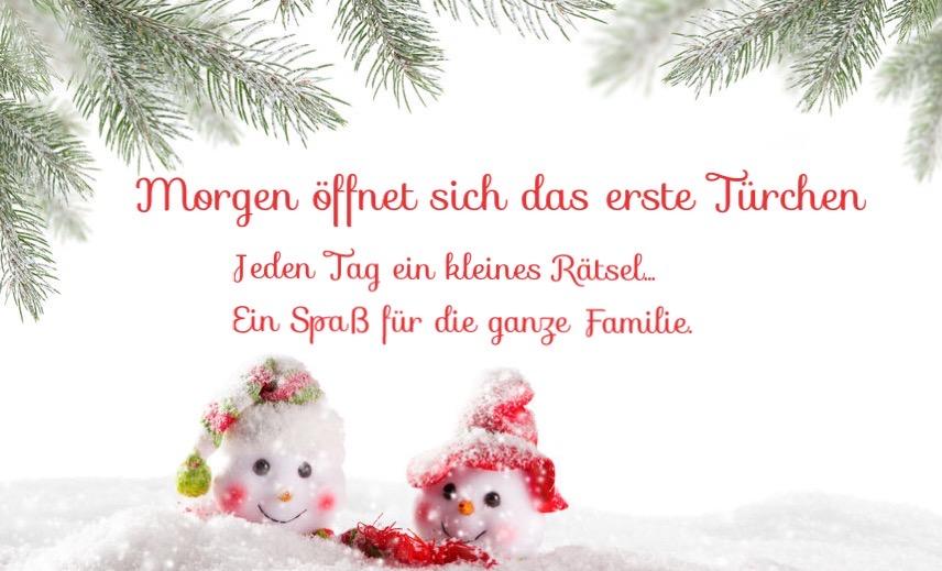 Ein Advents-Rätsel-Kalender...