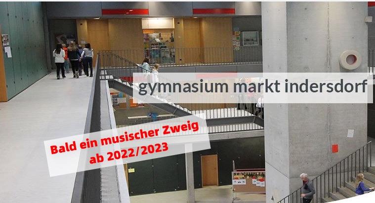 Bald ein musischer Zweig am Gymnasium in Indersdorf