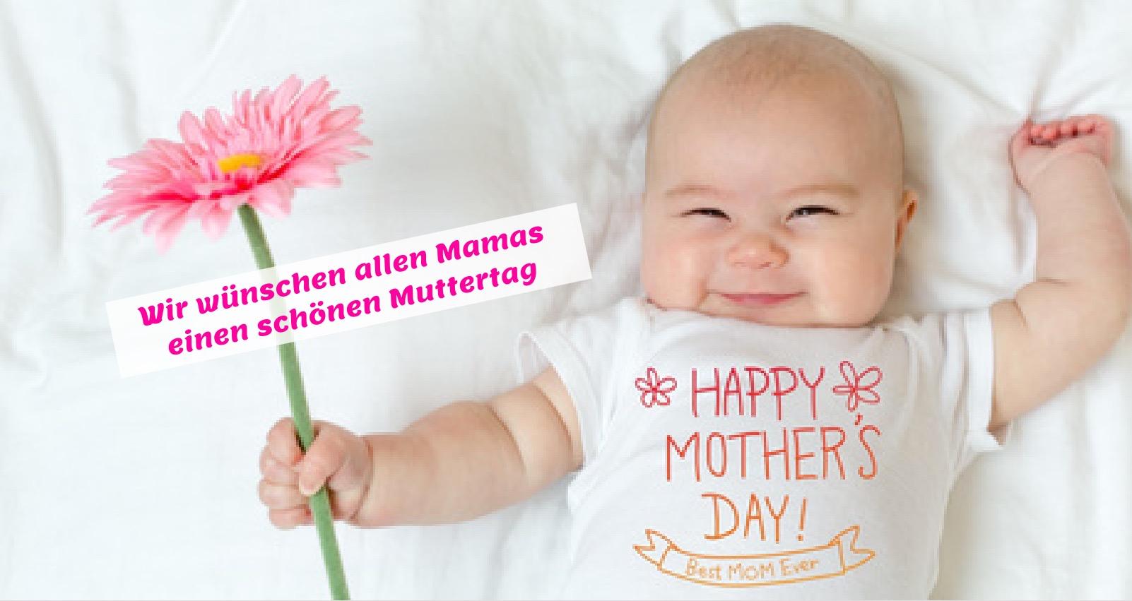 Wir wünschen allen Mamas einen schönen Muttertag!